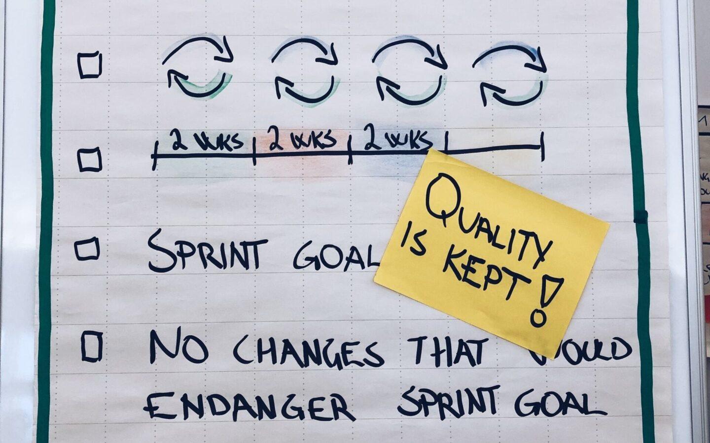 Sprint goals agile s B Sllo