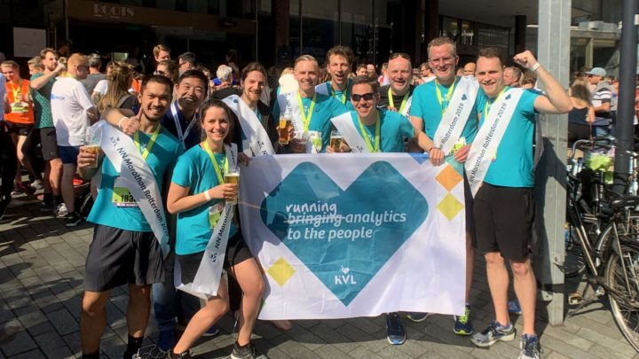 KVL op de NN Marathon Rotterdam 2019